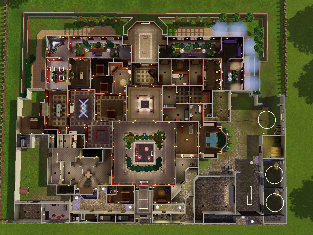 26 Amazing Mansion Floor Plans Sims 3 Architecture Plans