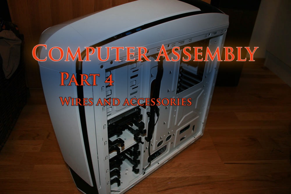 Putting together my first computer, part 4