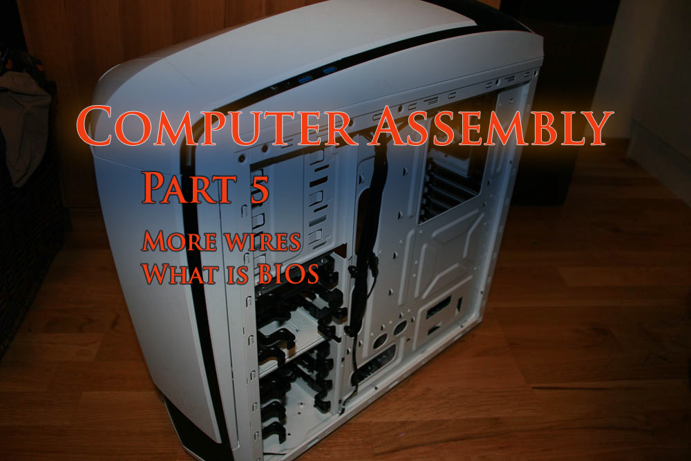 Putting together my first computer, part 5