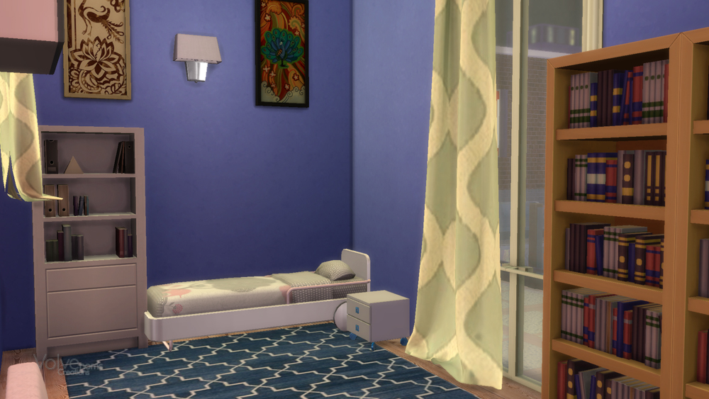 WIC and kids bedrooms